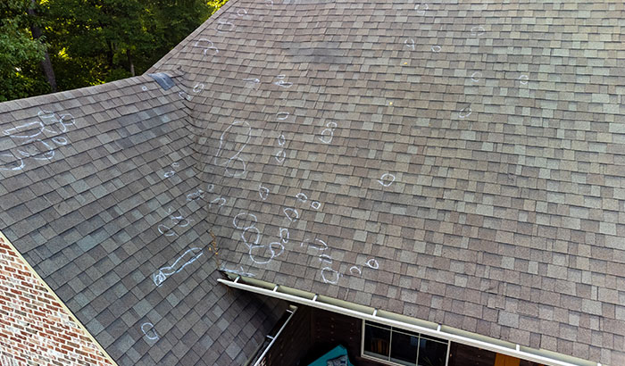 Hail Damage: Here's What It Looks Like on Your Roof